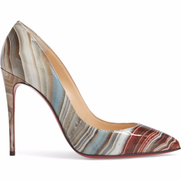 545643c215f CHRISTIAN LOUBOUTIN Pigalle Follies Pointy To Pump NWT